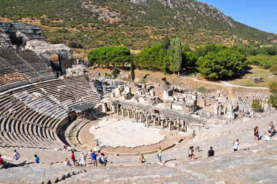 The theatre of Ephesus nowoto