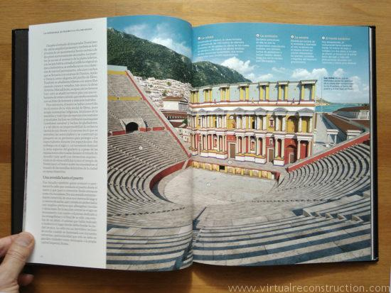 Epheus book theatre virtual reconstruction